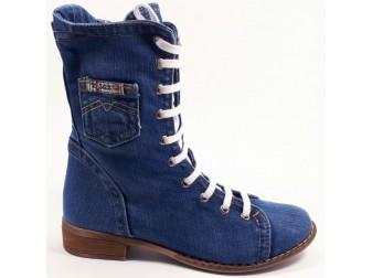 Ботинки 301-77 Ersax, Джинсовая обувь