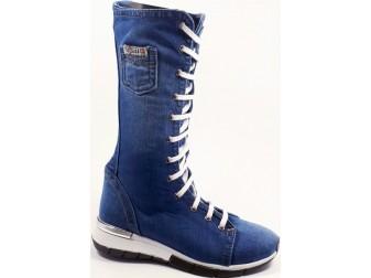 Ботинки 300-a1 Ersax, Джинсовая обувь
