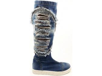 Сапоги 315-yn5-G1 Ersax, Джинсовая обувь