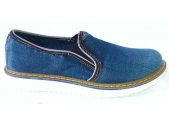 Мокасин 521-33 Ersax, Джинсовая обувь