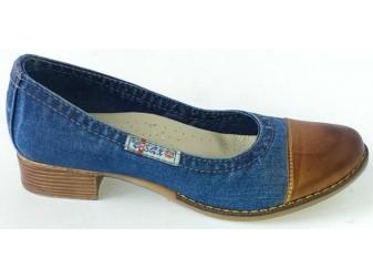 Туфли 500-К37-У2 E-sax, Джинсовая обувь