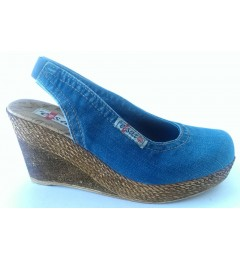 Босоножки 1043-E1, , 1232 грн., 1043-E1, Ersax, Джинсовая обувь