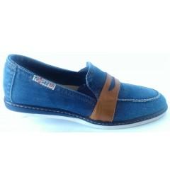 Джинсовые туфли 104-K37-M1, , 1636 грн., Джинсовые туфли 104-K37-M1, Ersax, Мужская обувь