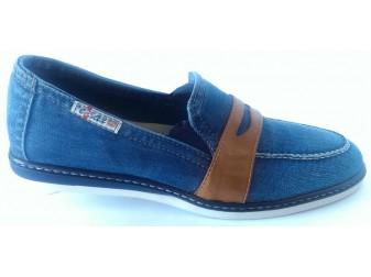 Джинсовые туфли 104-K37-M1 Ersax, Джинсовая обувь