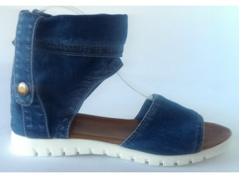 Босоножки 2007-S2 Ersax, Джинсовая обувь
