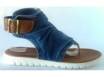 Босоножки 2014-S2 Ersax, Джинсовая обувь