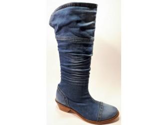 Сапоги 340-k01-j1 Ersax, Джинсовая обувь