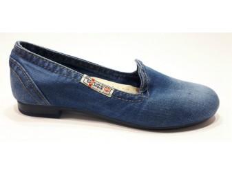 Балетки 495-tpu Ersax, Джинсовая обувь