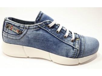 кроссовки 701-y4-s3 Ersax, Джинсовая обувь