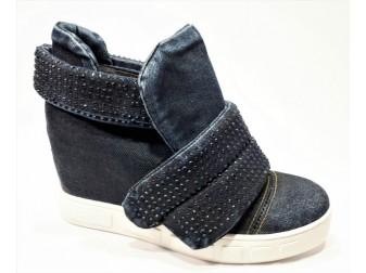 Сникерс 13-05-7310 Emani jeans, Джинсовая обувь
