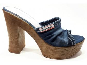Сабо 07-10-76234 Emani jeans, Джинсовая обувь