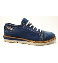 Джинсовые туфли 107-M2, , 1515 грн., Джинсовые туфли 107-M2, Ersax, Мокасины
