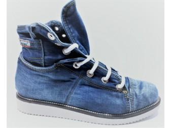 Ботинки Emani jeans, Джинсовая обувь