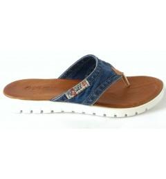 Вьетнамки 1055-s2, , 1008 грн., 1055-S2, Ersax, Джинсовая обувь
