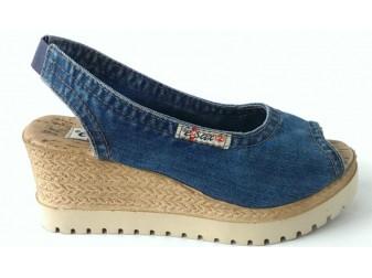 Босоножки 1040-P8 Ersax, Джинсовая обувь