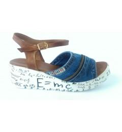 Босоножки 1104-k37-a1-z11, , 1261 грн., 1104-k37-a1-z11, Ersax, Джинсовая обувь