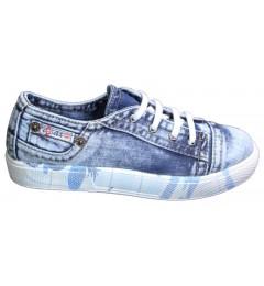 Слипоны, , 1345 грн., 693Y4-G, Ersax, Джинсовая обувь