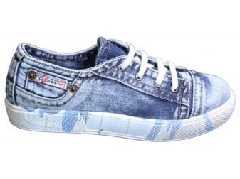 Слипоны Ersax, Джинсовая обувь