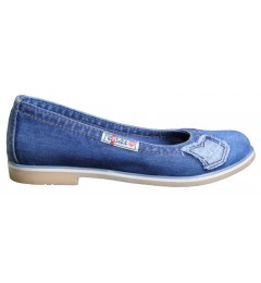 Балетки 500-N14-39, , 1232 грн., 500-N14-39, Ersax, Джинсовая обувь
