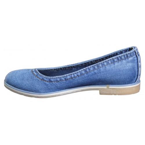3f921f6ed Балетки 500-39 Ersax, Джинсовая обувь