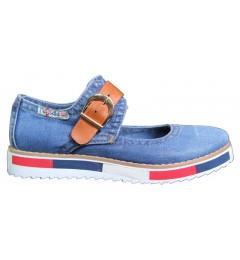 Туфли, , 1232 грн., 529-K37-Y8, Ersax, Джинсовая обувь