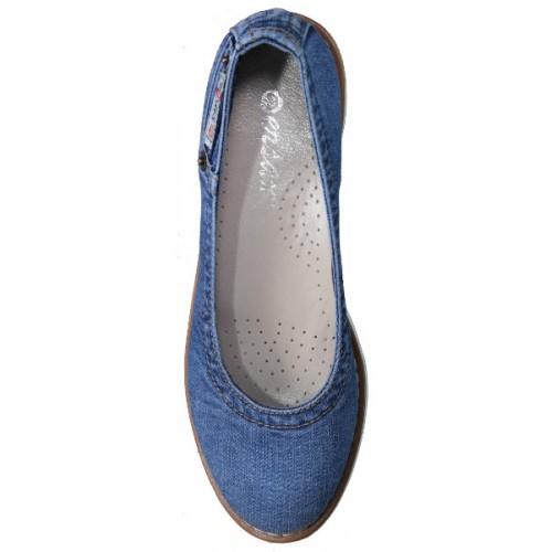 cbcdbc610 Балетки Ersax, Джинсовая обувь