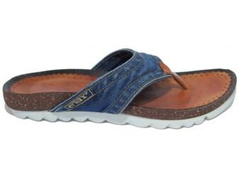 сандалеты Ersax, Джинсовая обувь