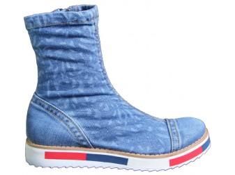 Ботинки 331-L22-Y8 Ersax, Джинсовая обувь