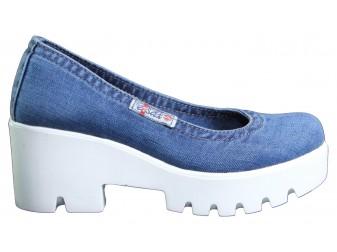 Туфли Ersax, Джинсовая обувь