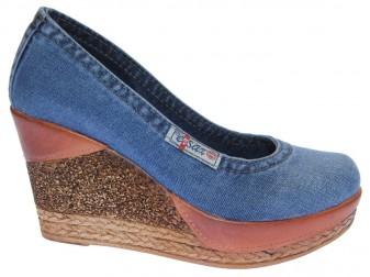 Туфли 500-k37-e3 Ersax, Джинсовая обувь