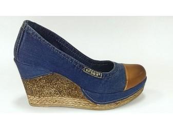 Туфли 500-k37-k37-e3 E-sax, Джинсовая обувь