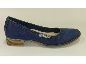 Туфли 500-Y2 E-sax, Джинсовая обувь