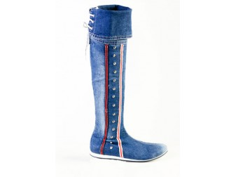 Сапоги 202-34 Mariposa, Джинсовая обувь