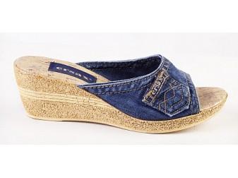Сабо E-sax, Джинсовая обувь